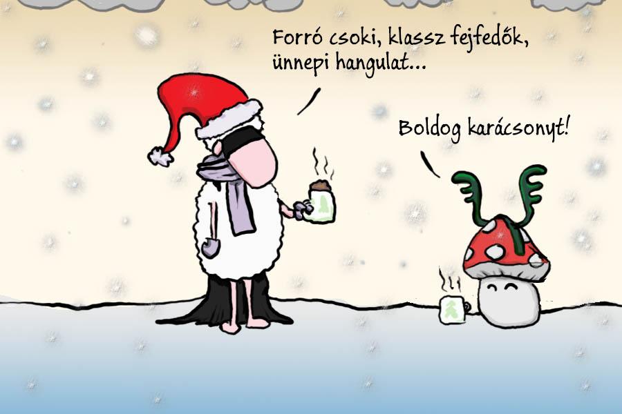 Szuperbirkás karácsonyt mindenkinek!